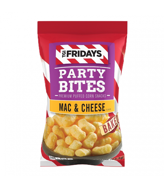 TGI Fridays Mac & Cheese Party Bites 3.25oz (92g) Food and Groceries TGI Fridays