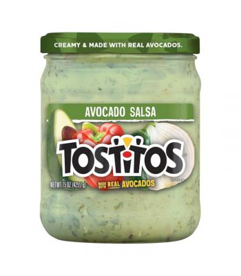 Tostitos Avocado Salsa - 15oz (425.2g) Snacks and Chips Tostitos
