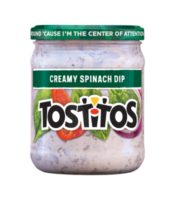 Tostitos Creamy Spinach Dip 15oz (425.2g) Snacks and Chips Tostitos