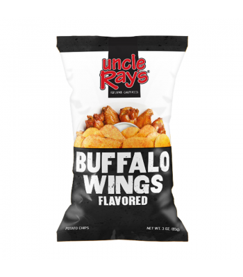 Uncle Ray's - Buffalo Wings Potato Chips - 4.25oz (120g) Snacks and Chips