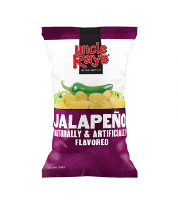 Uncle Ray's - Jalapeno Potato Chips - 4.25oz (120g) Crisps & Chips Uncle Ray's