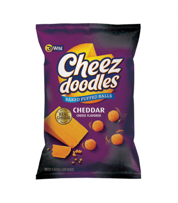 Wise Cheez Doodles Cheddar Balls - 4.5oz (127g) Snacks and Chips