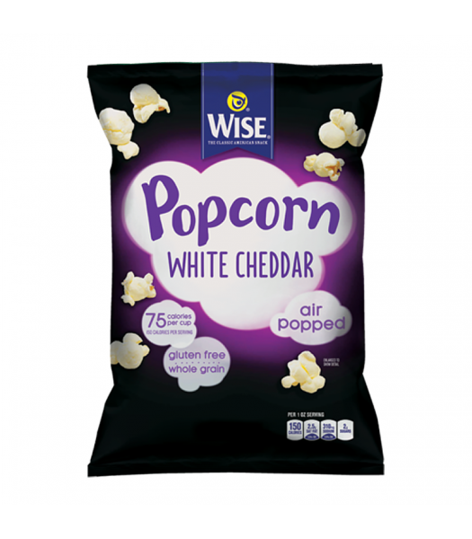 Wise White Cheddar Popcorn - 3.5oz (99g) Snacks and Chips