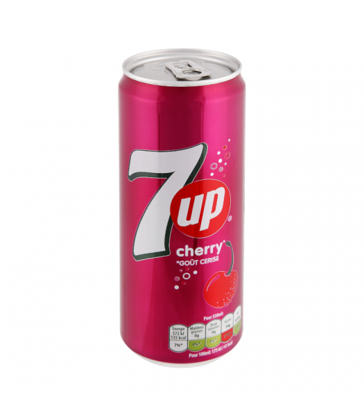 7UP Cherry - 330ml (EU) Soda and Drinks 7Up