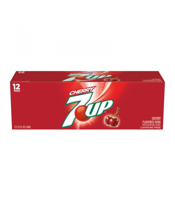 7UP Cherry - 12fl.oz (355ml) 12-Pack Soda and Drinks 7Up