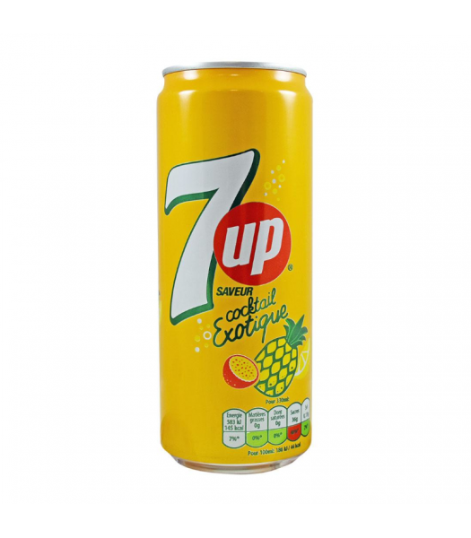 7UP Exotic Cocktail - 330ml (EU) Soda and Drinks 7Up
