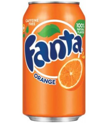 Fanta Orange 12oz (355ml) can