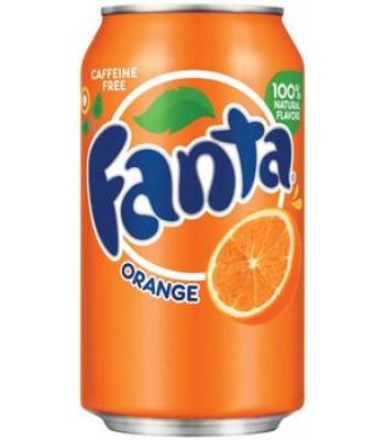 Fanta Orange 12oz (355ml) can