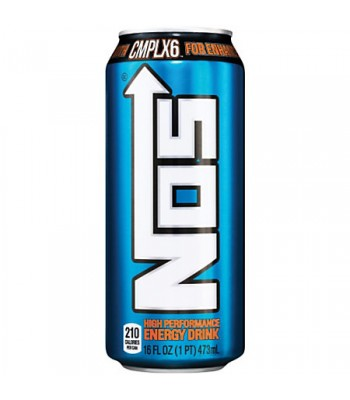 NOS High Performance Energy Drink 16oz (473ml) Energy & Sports Drinks