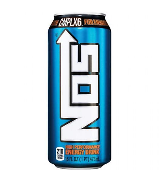 NOS High Performance Energy Drink 16oz (473ml) Energy & Sports Drinks