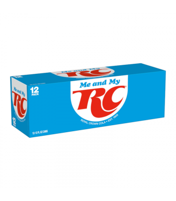 RC Cola - 12-Pack (12 x 12fl.oz (355ml)) Soda and Drinks