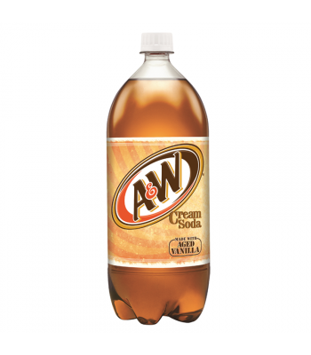 A&W Cream Soda - 2 Litre Soda and Drinks A&W