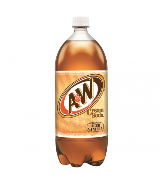 A&W Cream Soda - 2 Litre Soda and Drinks A&W
