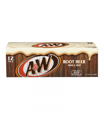 Clearance Special - A&W Root Beer - 12-Pack (12 x12fl.oz (355ml)) **Best Before: July 20** Clearance Zone