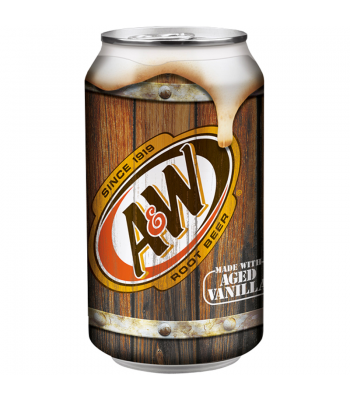 A&W Root Beer 355ml can
