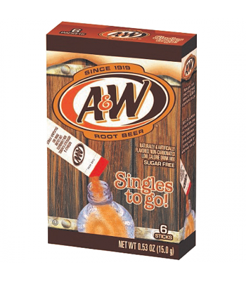 A&W Singles to go! Drink Mix 0.53oz (15g) Drink Mixes A&W