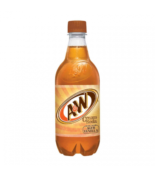 A&W Cream Soda - 20fl.oz (591ml) Soda and Drinks A&W
