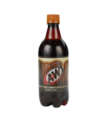 A&W Root Beer - 20fl.oz (591ml) Soda and Drinks A&W