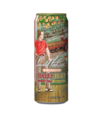AriZona Arnold Palmer Peach Half & Half Sweet Tea Lemonade 23fl.oz (680ml) Iced Tea Arizona