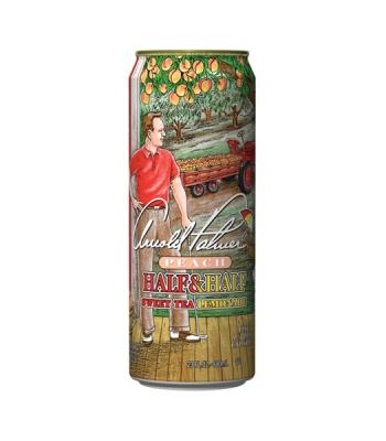 AriZona Arnold Palmer Peach Half & Half Sweet Tea Lemonade 23fl.oz (680ml) Iced Tea Arizona