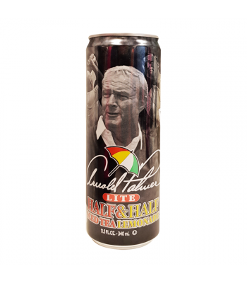 AriZona - Arnold Palmer Lite Half & Half Iced Tea Lemonade SLIM CAN 11.5oz (340ml)  Soda and Drinks Arizona
