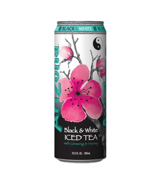 AriZona Black & White Tea 23oz (680ml)  Iced Tea Arizona