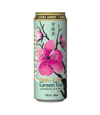 Arizona Green Tea Extra Sweet 23.5oz (695ml)