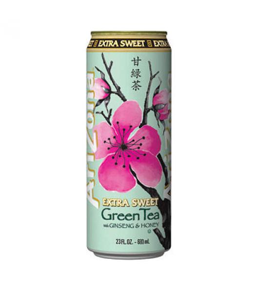 Arizona Green Tea Extra Sweet 23oz (680ml) Iced Tea Arizona