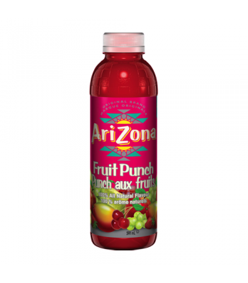 AriZona Fruit Punch 20oz (591ml) Tall Boy Bottle Fruit Juice & Drinks AriZona