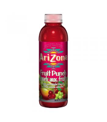 AriZona Fruit Punch 20oz (591ml) Tall Boy Bottle Fruit Juice & Drinks AriZona