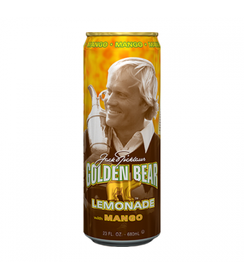 AriZona Golden Bear Mango Lemonade - 23fl.oz (680ml) Soda and Drinks Arizona