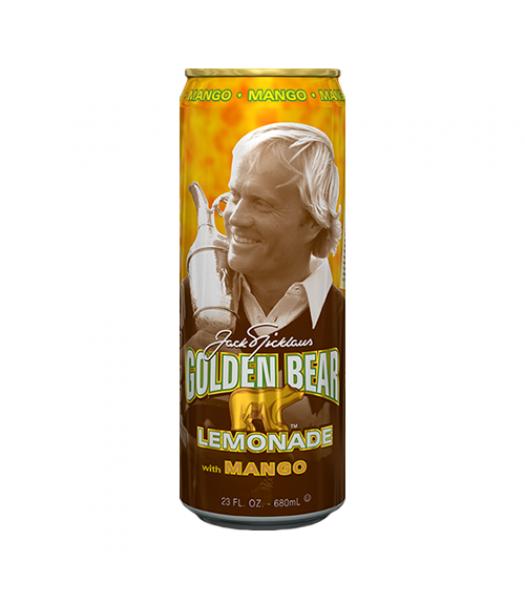 AriZona Golden Bear Mango Lemonade - 23fl.oz (680ml) Soda and Drinks Arizona