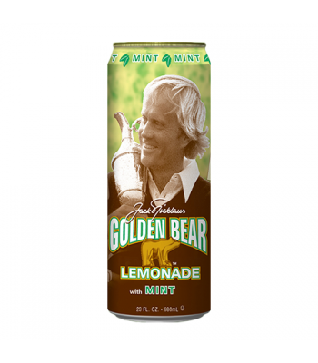 Clearance Special - Arizona Golden Bear Mint Lemonade 23.5fl.oz (680ml) ** Best Before: 03 May 2017 ** Clearance Zone