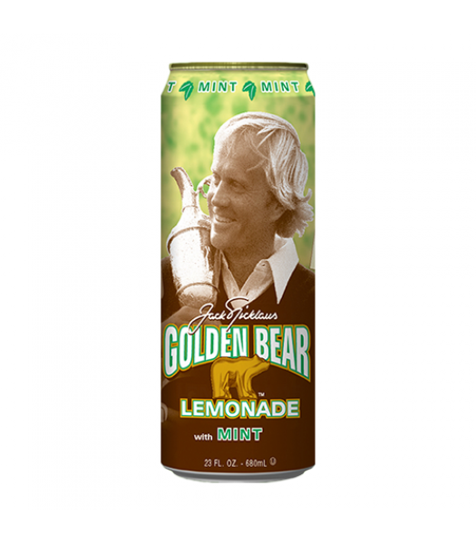 Arizona Golden Bear Mint Lemonade 23.5oz (695ml) Fruit Juice & Drinks AriZona
