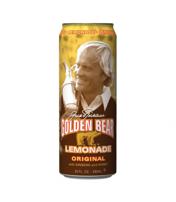 AriZona Golden Bear Lemonade Original with Ginseng and Honey 23fl.oz (680ml) Fruit Juice & Drinks AriZona