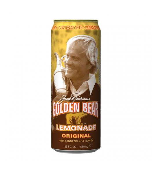 AriZona Golden Bear Lemonade Original with Ginseng and Honey 23fl.oz (680ml) Fruit Juice & Drinks AriZona