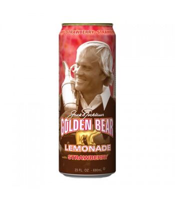 Arizona Golden Bear Strawberry Lemonade 23.5oz (695ml) Regular Soda AriZona