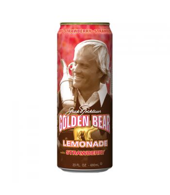 Arizona Golden Bear Strawberry Lemonade 23.5oz (695ml) Regular Soda AriZona