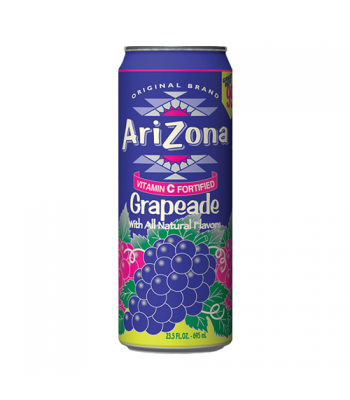 AriZona Grapeade 23.5oz (695ml) Soda and Drinks Arizona