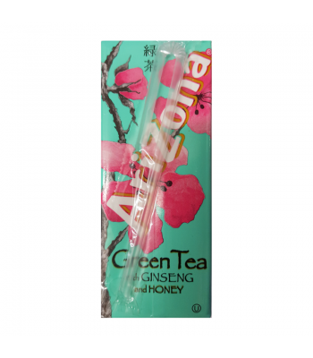 AriZona Green Tea with Ginseng and Honey Carton 6.75fl.oz (200ml) Iced Tea Arizona