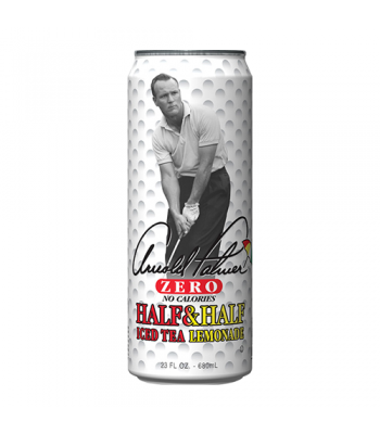 AriZona Arnold Palmer Zero Half & Half Iced Tea Lemonade 23fl.oz (680ml) Iced Tea Arizona