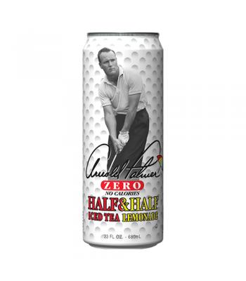 AriZona Arnold Palmer Zero Half & Half Iced Tea Lemonade 23fl.oz (680ml) Iced Tea Arizona
