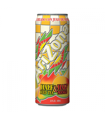 Arizona Half & Half Mango 23.5oz (695ml) Iced Tea AriZona