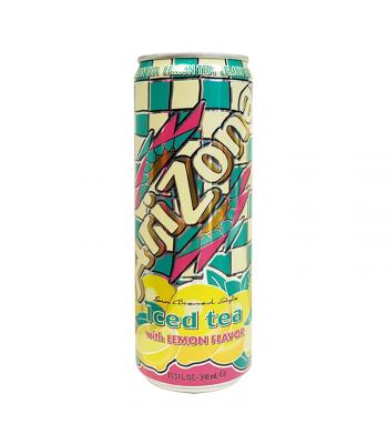 Arizona - Lemon Iced Tea SLIM CAN 11.5oz (340ml)  Soda and Drinks Arizona