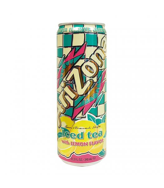 Arizona - Lemon Iced Tea SLIM CAN 11.5oz (340ml)  Soda and Drinks Arizona