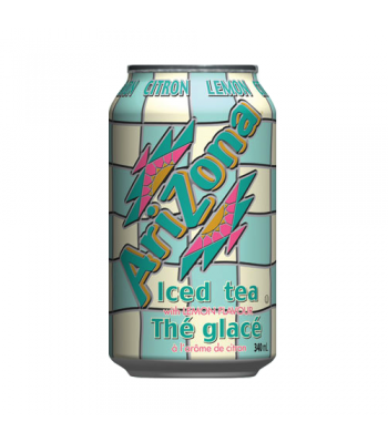 AriZona Lemon Iced Tea 11.5oz (340ml) Iced Tea AriZona