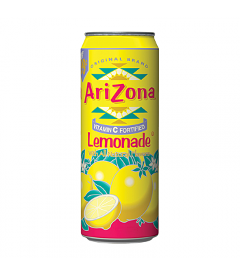 AriZona Lemonade 23oz (680ml) Regular Soda Arizona