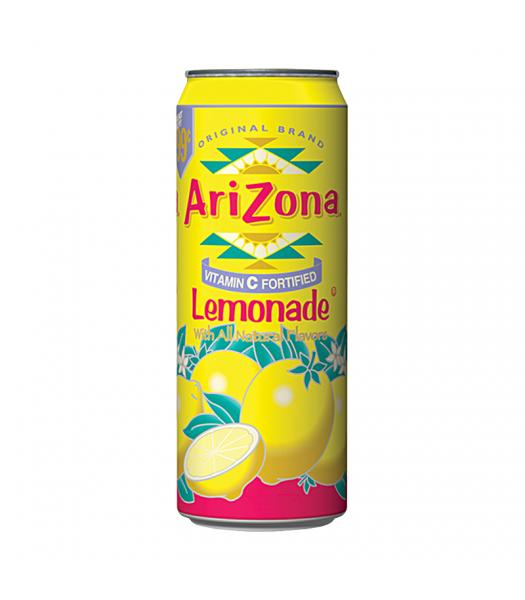 AriZona Lemonade 23oz (680ml) Regular Soda Arizona