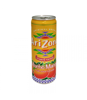 Arizona - Mucho Mango SLIM CAN 11.5oz (340ml)  Soda and Drinks Arizona