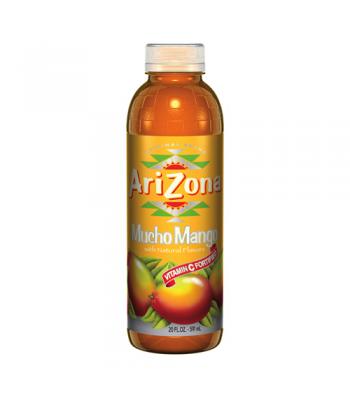 Arizona Mucho Mango 20oz (591ml) Tall Boy Bottle Fruit Juice & Drinks
